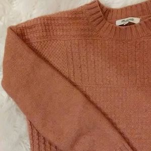Madewell crop sweater